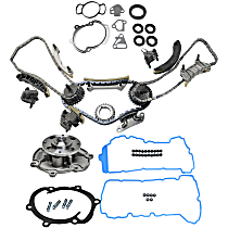 Timing Chain Kit, Timing Cover Gasket, Valve Cover Gasket and Water Pump Kit