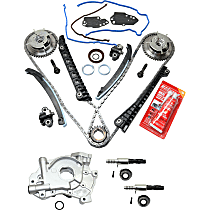 Replacement Timing Chain Kit, Oil Pump and Variable Timing Solenoid Kit