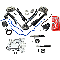 Oil Pump, Variable Timing Solenoids and Timing Chain Kit