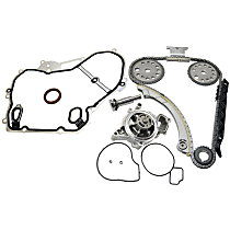 Replacement Timing Chain Kit, Water Pump and Timing Cover Gasket