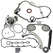 Timing Cover Gasket, Valve Cover Gasket, Water Pump and Timing Chain Kit