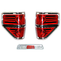 Replacement Tail Light and Third Brake Light Kit