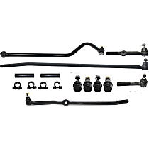 Track Bar, Ball Joint, Tie Rod End and Tie Rod Adjusting Sleeve Kit