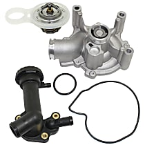 Replacement Thermostat Housing, Water Pump and Thermostat Kit