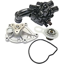 Thermostat, Thermostat Housing and Water Pump Kit