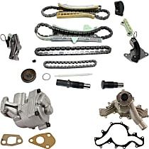 Water Pump - 4.0 Liter Engine, with Oil Pump and Timing Chain Kit (without Sprocket)