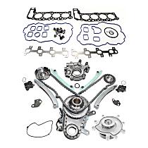 Head Gasket Set, Oil Pump, Timing Chain Kit and Water Pump Kit