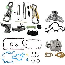 Lower Engine Gasket Set - Set of 4