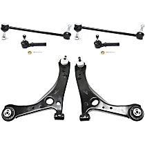 Control Arm - Front, Driver and Passenger Side, Lower, Set of 6
