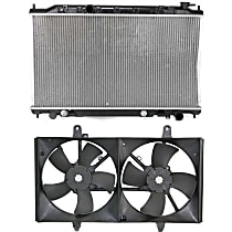 Replacement Cooling Fan Assembly and Radiator Kit