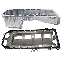 Oil Pan Gasket and Oil Pan Kit - For 5.7L V8 Engines