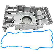 Replacement Oil Pan Gasket and Oil Pan Kit