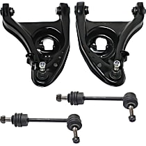 Control Arm - Front, Driver and Passenger Side, Lower, with Sway Bar Links