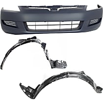 Replacement Bumper Cover and Fender Liner Kit
