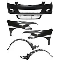 Bumper Cover, Grille Assembly, Fender and Fender Liner Kit