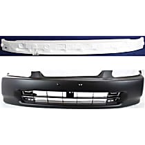 Bumper Absorber and Bumper Cover Kit - Front, OE Replacement