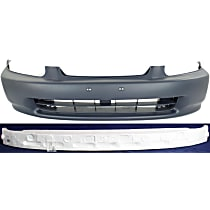 Bumper Cover and Bumper Absorber Kit - Front, OE Replacement