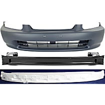 Bumper Cover, Bumper Reinforcement and Bumper Absorber Kit - Front, OE Replacement