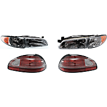 Replacement Headlight and Tail Light Kit - DOT/SAE Compliant