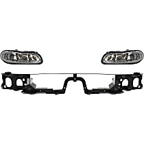 Header Panel - with Right and Left Headlights