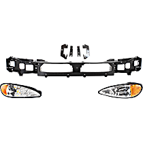 Replacement Headlight and Header Panel Kit - DOT/SAE Compliant