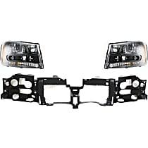 Headlight and Header Panel Kit - DOT/SAE Compliant