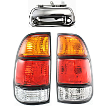 Replacement Tail Light and Tailgate Handle Kit - DOT/SAE Compliant