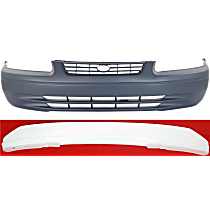 Replacement Bumper Cover and Bumper Absorber Kit - Front, OE Replacement