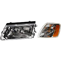 Replacement Corner Light and Headlight Kit - Driver Side, OE Replacement, DOT/SAE Compliant