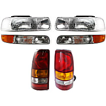 Replacement Tail Light, Headlight and Parking Light Kit