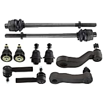 Replacement Suspension Kit, Tie Rod End, Ball Joint, Idler Arm and Pitman Arm Kit
