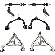 Control Arm - Front, Driver and Passenger Side, Upper and Lower