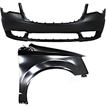 Fender - Front, Passenger Side, with Front Bumper Cover, CAPA Certified