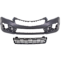 Bumper Cover - Front, Kit, Primed, For Models With RS Package, Includes Bumper Grille