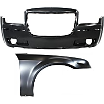 Replacement Bumper Cover and Fender Kit