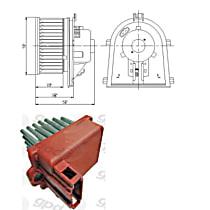 KIT1-201009-100-A Blower Motor and Resistor Kit