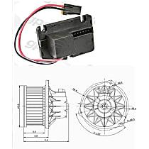 KIT1-201009-23-B Blower Motor and Resistor Kit