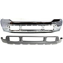 Bumper - Front, Chrome, with Center Valance