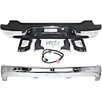 Step Bumper and Bumper Kit - With mounting bracket(s), Pads included