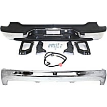 Replacement Step Bumper and Bumper Kit - With mounting bracket(s), Pads included