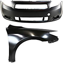 Bumper Cover and Fender Kit - With fog light holes