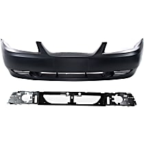 Bumper Cover and Header Panel Kit - Without fog light holes