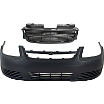 Bumper Cover and Grille Assembly Kit - Without fog light holes
