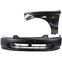 Bumper Cover and Fender Kit - Without fog light holes