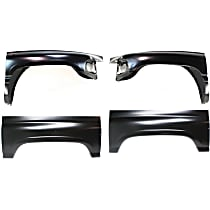 Wheel Arch Repair Panel and Fender Kit - Front, Driver and Passenger Side, Direct Fit