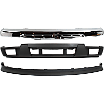 Replacement Bumper Cover, Bumper and Valance Kit - With fog light holes