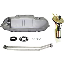 Replacement Fuel Tank, Fuel Pump and Fuel Tank Strap Kit - Electric, Direct Fit