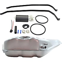 Fuel Tank, Fuel Tank Strap and Fuel Pump Kit - Electric, Direct Fit