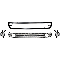 Replacement Valance, Fog Light and Grille Assembly Kit - Front, OE Replacement