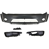Replacement Bumper Cover and Bumper End Kit - With fog light holes